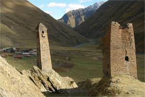 Tusheti towers